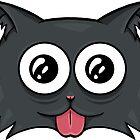 Crazy cat by Mari Anrua