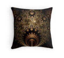Bronze Dragon Throw Pillow