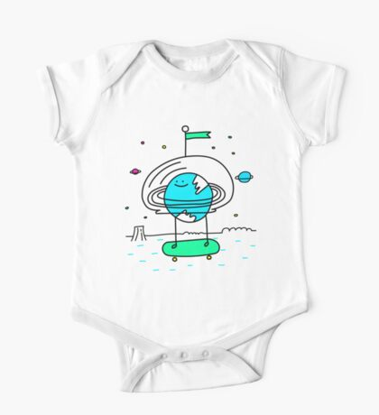 Surreal Planet - Mr Beaker One Piece - Short Sleeve