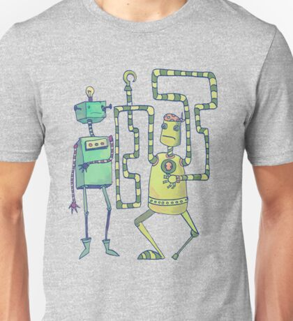 Robo Pirates! Unisex T-Shirt