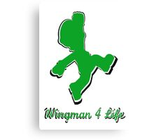 Wingman 4 Life Canvas Print