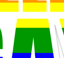 HELLA GAY Sticker