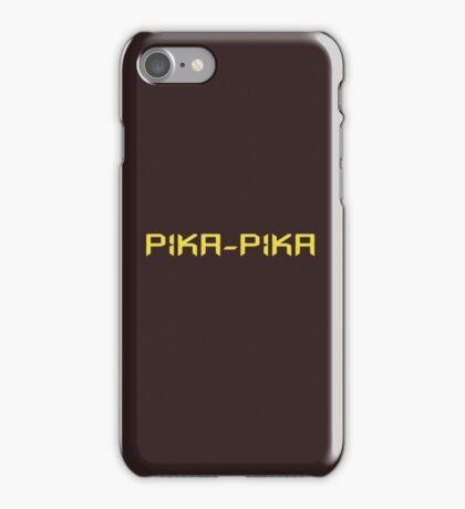 Pika-pika iPhone Case/Skin
