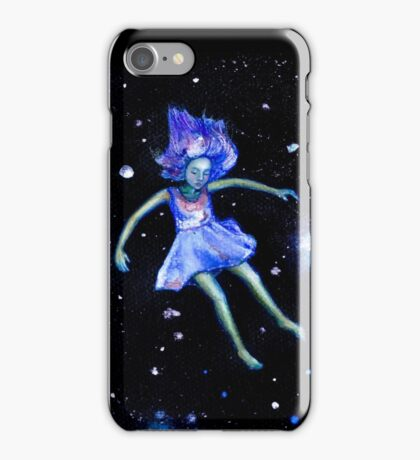SPACED OUT | Watercolour Illustration  iPhone Case/Skin