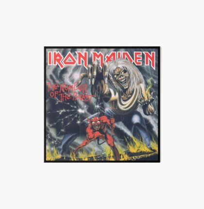 Iron Maiden - Number of the Beast Art Board