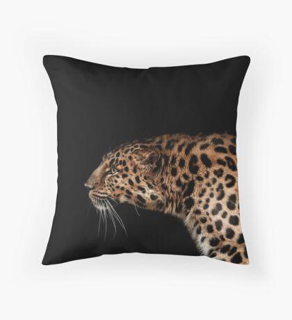 Far eastern leopard Throw Pillow
