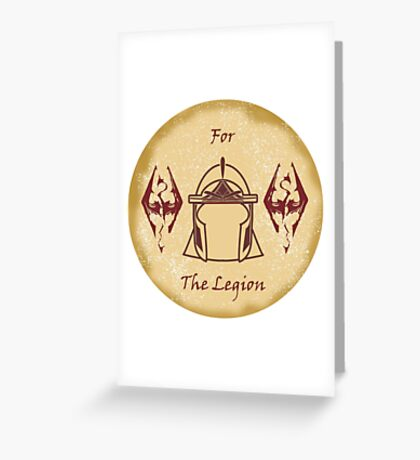 For the Legion - Imperials Greeting Card