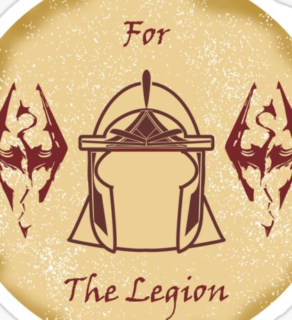 For the Legion - Imperials Sticker