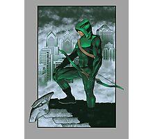 The Emerald Archer Photographic Print