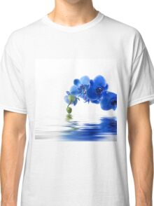 Beautiful Blue flower on designs Classic T-Shirt