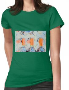 Is Abstract Wine Drinkable? Womens Fitted T-Shirt