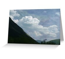 Clouds over Crawford Greeting Card