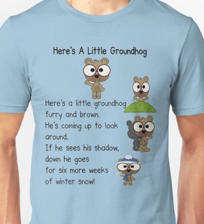 Groundhog Day In Canada Unisex T-Shirt