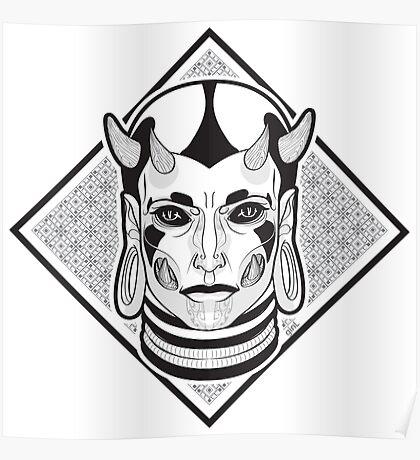 Demon female Poster