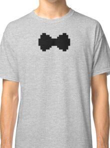 Pixel Black Bow Classic T-Shirt