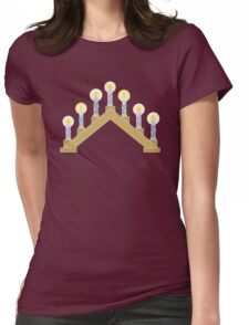 Lights of Christmas Womens Fitted T-Shirt
