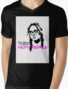 Sorry If I Smell like Dead people - Eliza Mens V-Neck T-Shirt