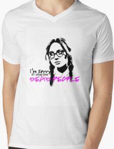 Sorry If I Smell like Dead people - Eliza Mens V-Neck T-Shirt