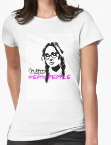 Sorry If I Smell like Dead people - Eliza Womens Fitted T-Shirt