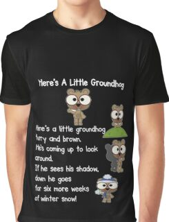 Happy Groundhog Day In Canada Graphic T-Shirt