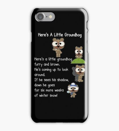 Happy Groundhog Day In Canada iPhone Case/Skin