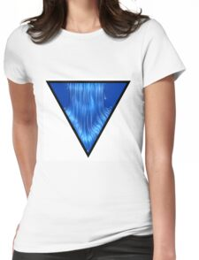 Water symbol Womens Fitted T-Shirt