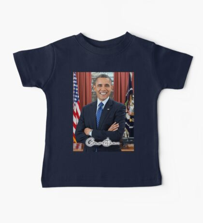 Barack Obama, 44th, President of the United States Baby Tee