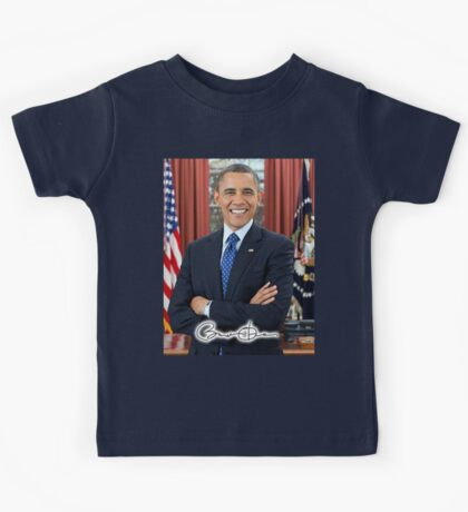 OBAMA, Barack Obama, 44th, President of the United States Kids Tee