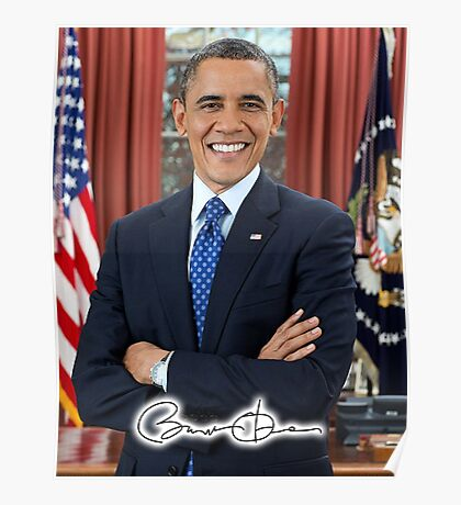 Barack Obama, 44th, President of the United States Poster