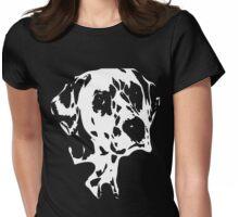 dalmatian t-shirt Womens Fitted T-Shirt