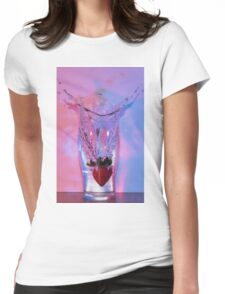 Falldown Water Womens Fitted T-Shirt