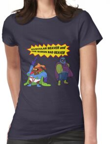 Beaver Heroes Womens Fitted T-Shirt