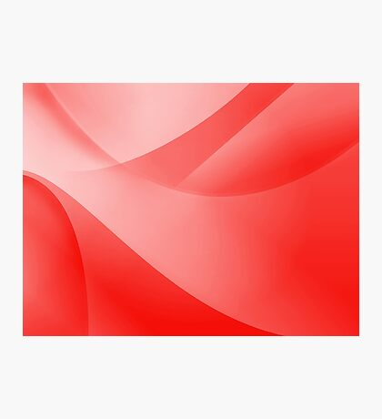 Red Wallpaper Photographic Print