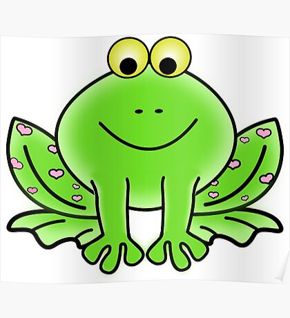 Jessica the Frog Poster