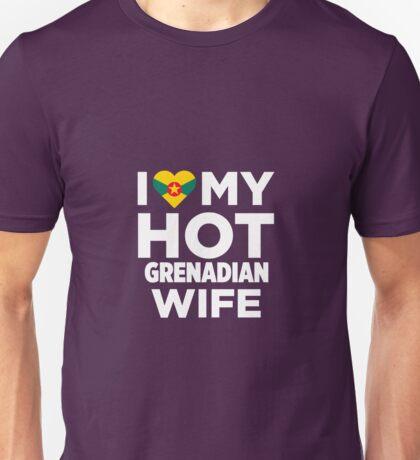 I Love My Hot Grenadian Wife Unisex T-Shirt