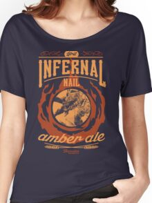 Infernal Nail Amber Ale | FFXIV Women's Relaxed Fit T-Shirt