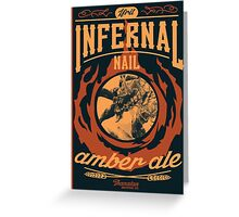 Infernal Nail Amber Ale | FFXIV Greeting Card