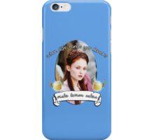 Make Lemon Cakes iPhone Case/Skin