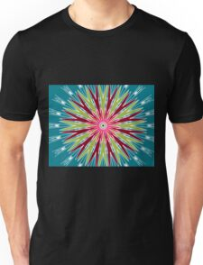 Psychedelic Trippy Hippie Illusion Unisex T-Shirt
