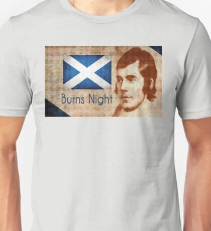 Burns Night Supper Unisex T-Shirt