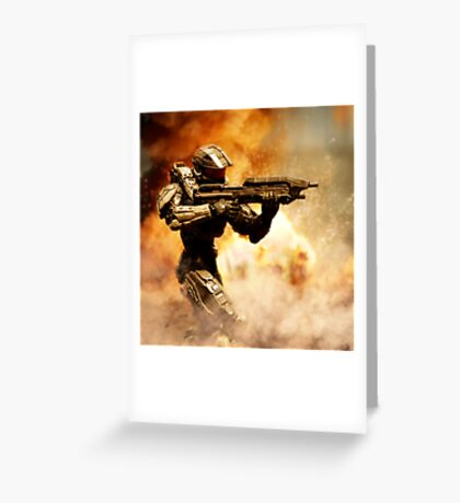 Explosions Greeting Card