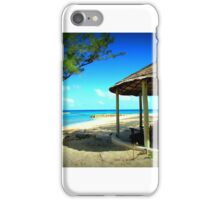 Sandals Resort Bahamas Beach_5 iPhone Case/Skin