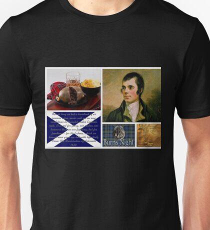 Burns night Unisex T-Shirt