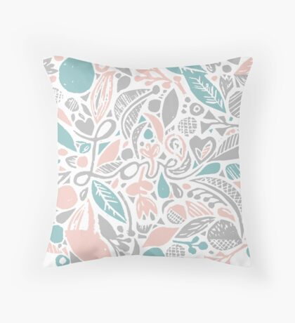 Gentle love affair Throw Pillow