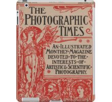 The Photographic Times in Red iPad Case/Skin