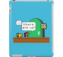 Pidgeot's fault iPad Case/Skin