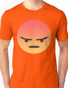 Angry 'Angery' React Face Unisex T-Shirt