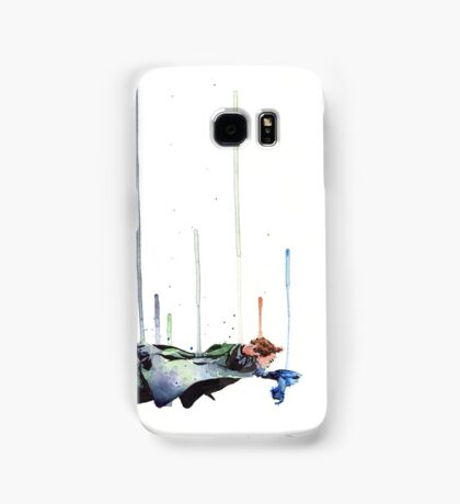 Sherlock Holmes: The Reichenbach Fall Samsung Galaxy Case/Skin