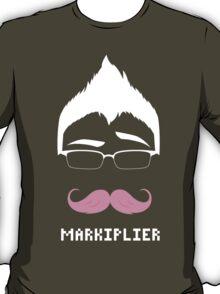 Markiplier/Warfstache (White Logo Eyebrow) T-Shirt