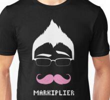 Markiplier/Warfstache (White Logo Eyebrow) Unisex T-Shirt
